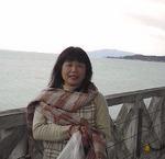 ●宍道湖と手には干し柿!●.jpg