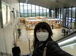 ●マスクをして、八雲立つ○雲空港の最終便で東京へ!!●.jpg