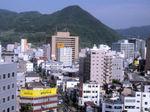図2 ホテルから見た朝の長野市内.jpg