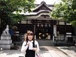 図1 雨上がりの鳥越神社でまずは大吉.jpg