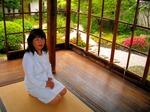 図2 研修終了後、小泉八雲旧居を訪問.jpg