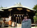図1 新宿熊野神社へ参拝.jpg