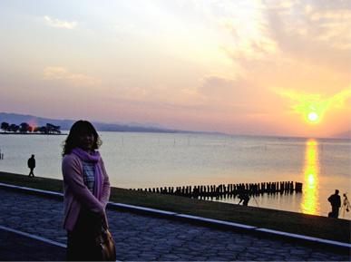 図12 嫁ヶ島と夕陽.jpg
