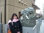 図2 ひとつの像で阿吽の狛犬.jpg