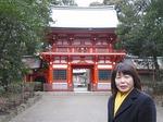 ●都内の神社では珍しくきれいな楼門がある●.jpg