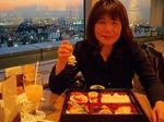 ●合間に、北とぴあ17Fのレストラン「山海亭」で夕食●.jpg