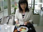 ●昼は、びぶるIIで、豆腐バーグ・ランチ!●.jpg