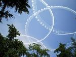 ●タワーを出たら、また来たブルーインパルスが描いた輪●.jpg