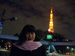 図5 東京タワーは、節電か裾野は光らない.jpg