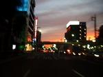 ●夕暮れの環状7号線をひた走る●.jpg