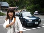 ●愛車マーチ君(ポンちゃん)と新しい諏訪大社御守●.jpg