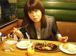 ●Big Boy 鹿浜店にてステーキとジュース(結局ステーキ好き?)●.jpg