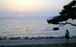 ●今日も無事、沈む夕陽を堪能●.jpg