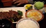 ●ステーキ定食を頂いた●.jpg