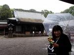 ●武蔵国一の宮・氷川大社にキタ〜!雨だけどw●.jpg