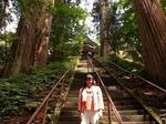 ●宝光社の270段余りの階段を登る●.jpg