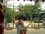 ●いつもの立ち寄り地、大國魂神社の茅の輪●.jpg
