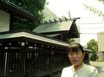 ●本日も美しい母智丘神社の神明造りの本殿●.jpg