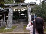 ●五社神社の筥崎鳥居、本家も見たばっかり(笑)●.jpg