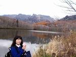 ●鏡池に写る戸隠の山々●.jpg