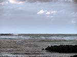 ●荒れる日本海、出雲崎から佐渡は見えず●.jpg
