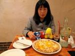●夕食は、ラ・ピッツェリア。またロボット君はいなかった●.jpg