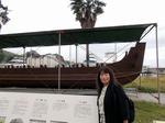 ●道の駅・宇土マリーナは休み、だが近くに古代の船が!●.jpg
