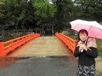 ●出番前に熊野大社を参拝●.jpg