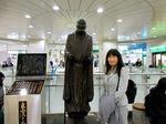 ●JR長岡駅の主(ぬし)?・良寛さんに会いに行く●.jpg