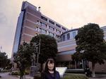 ●夕方、会場の昭島市役所に着く●.jpg