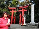 ●弥彦神社本社の鳥居●.jpg