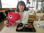 ●巨大仏下の食事処にてソースかつ丼をゲット!●.jpg