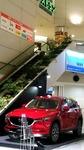 ●広島空港におかれているマツダ車赤が映える●.jpg