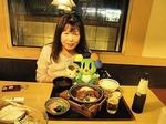●夕食は、かつはな亭(太田矢島)のかつ鍋定食●.jpg
