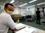 ●撮影を見守る弊社キモリ(ポ〇モン?)●.jpg